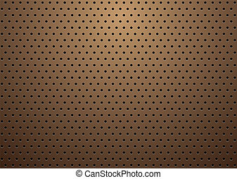 bronze small grill - abstract bronze metal background with...