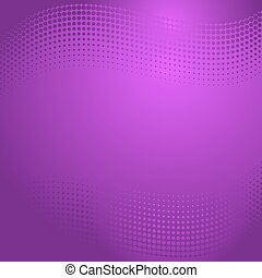 Violet halftone background - Beautiful vector violet...