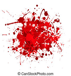blood bundle - Blood red abstract background with 3d effect...