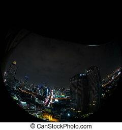 Bangkok Time lapse day to night