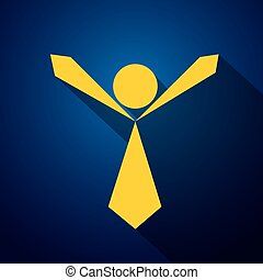 vector icon of an compassionate, empathetic person ready to...