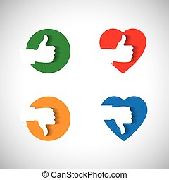 approval like confirmation and ok icon, - vector concept -...