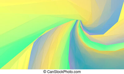Abstract background. Loop animation