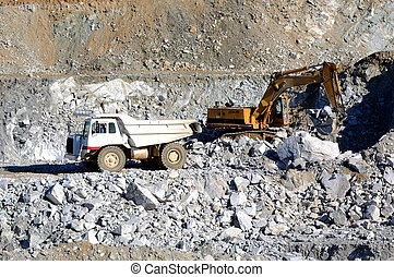 Machinery for mining - Vehicles involved in a mine...