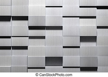 High Tech Aluminum Background - A high detail shot of...