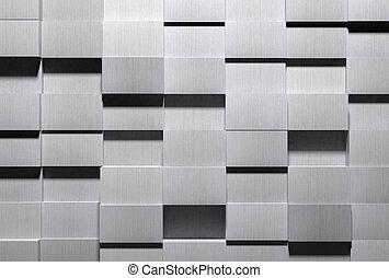 High Tech Aluminum Background - A high detail shot of...