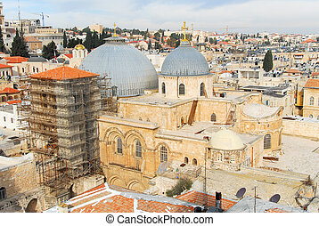 Church of the Holy Sepulchre - Jerusalem Old City - Church...