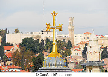 Church of the Holy Sepulchre - Jerusalem Old City - Cross of...
