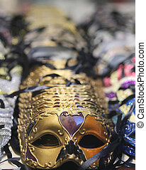 masks for sale in a shop of Venice