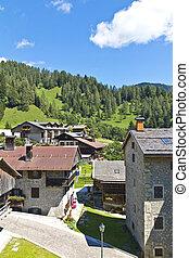 Sauris, Carnic Alps, Friulia Venezia Giulia, landscape