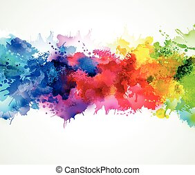 Abstract background design - bright background with...