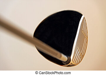 Golf club / driver - Golf club / wood driver head and shaft