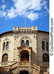 The court house of Monaco - The national court house of the...