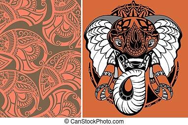 Elephant - Animal illustration