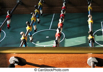 Soccer Tabletop Foosball football - Soccer Foosball football...