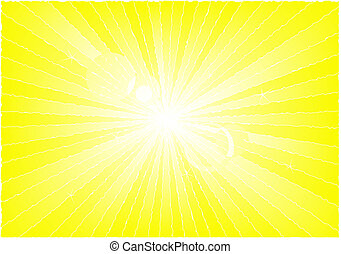 Rays of light - Abstract background showing rays of light in...