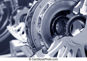 aircraft brakes - aircraft wheel and brake assembly cross...