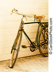 Bicycle - Old vintage Bicycle - vintage effect style...