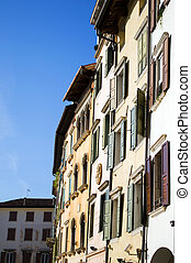 houses in Italian town