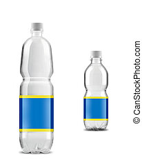 big with small bottled water