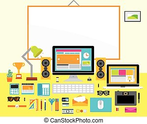 Design Elements for Business Office