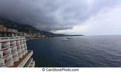 Monaco Monte Carlo Harbor - DSLR Full HD progressive video...
