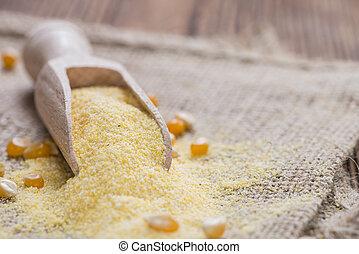 Harina de maíz,