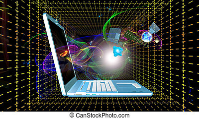 alto, velocidad,  internet, conexión