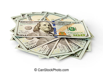 money dollars banknotes