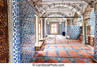 Rustem Pasa Mosque, Istanbul.