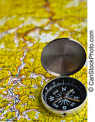 Satellites adventure - map and compass - The magnetic...