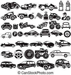 car black icons