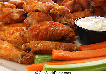 Chicken wings - Spicy chicken wings