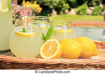 Lemonade  - Freshly squeezed lemonade.