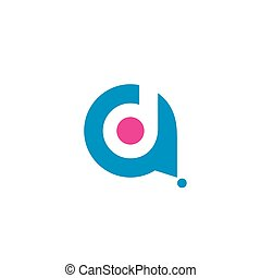 Sign of the letter A and D - Branding Identity Corporate...