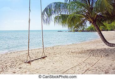 tropicais, praia,