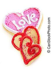 Valentines cookies - Homemade baked shortbread Valentine...