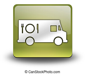 Icon, Button, Pictogram Food Truck - Icon, Button, Pictogram...