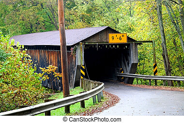 Covered Bridge - Historic covered bridge in Ashtabula county...