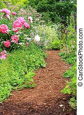 花園, 路徑,