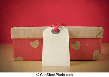 Loving Gift  in Heart Patterned Box