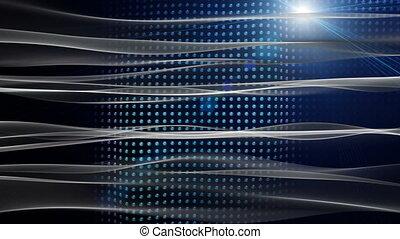 Futuristic animation, loop - Futuristic video animation with...