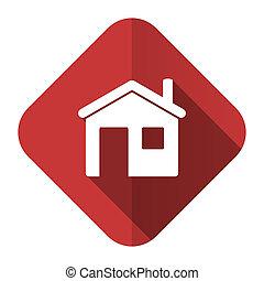 家, 圖象, 簽署, 套間, 房子