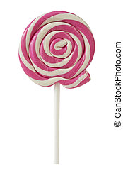 Lolly pop isolated on a white background