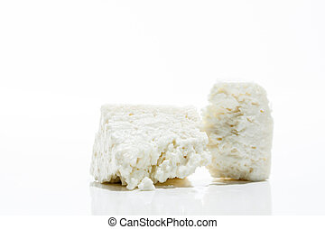 Chunk of Feta Cheese