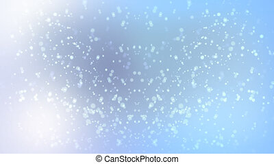 Blue Flurry HD - Light, Airy, Cloudy and Snowy feel
