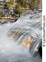 Raging Cataract - Upper Cataract Falls, a waterfall on...