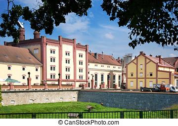 brewery, Trebon, South Bohemia, Czech republic