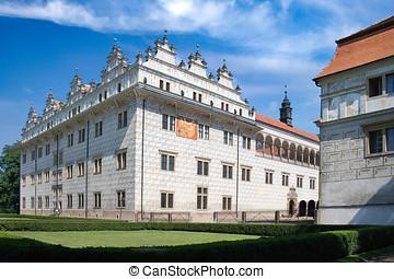 renaissance castle UNESCO, Litomysl, Czech republic -...