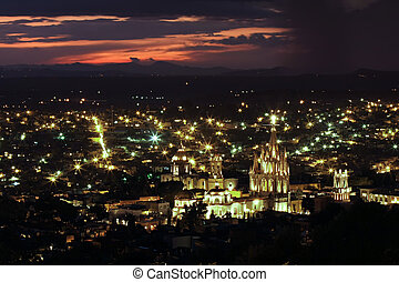 San Miguel de Allende - The historic Mexican city of San...